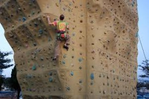 Artificial rock climbing wall in city to boost adventure tourism
