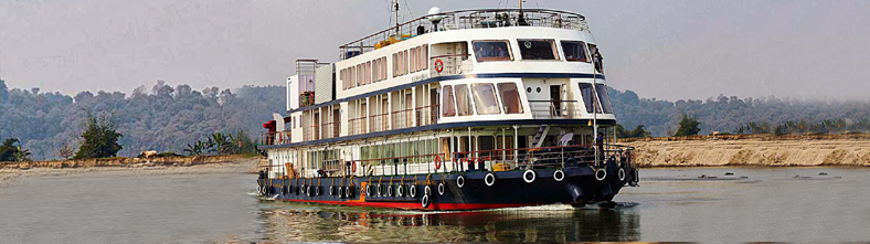 River Cruise on Brahmputra